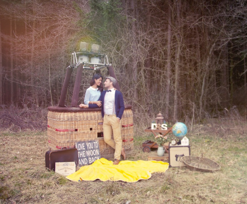 Romantikfahrt Heißluftballon Chiemsee