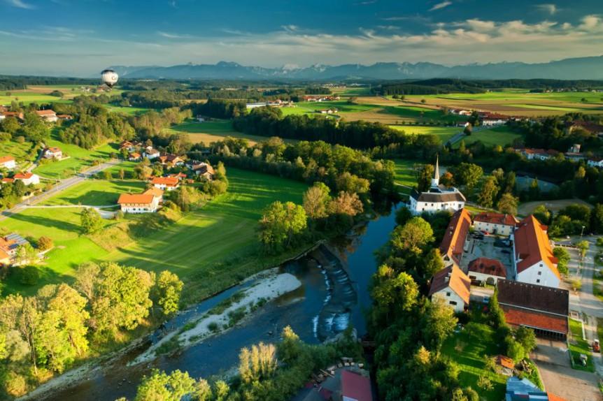 Ballonfahren im Chiemgau