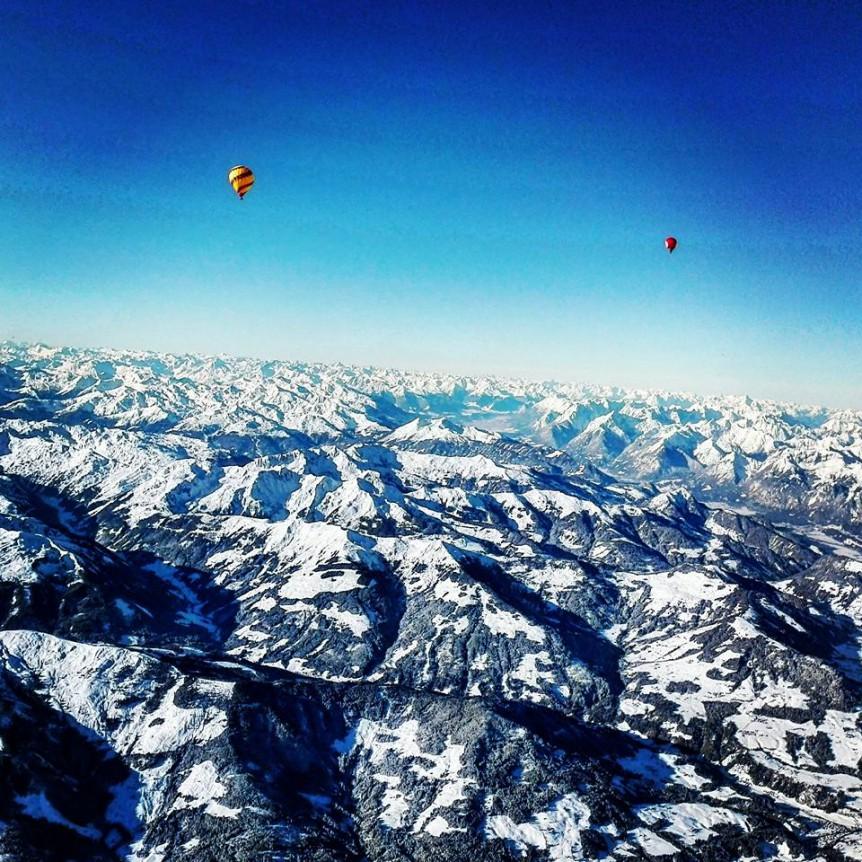 ballonfahrt alpen