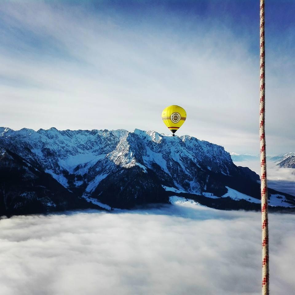 Ballonfahrt Alpen Ballooning