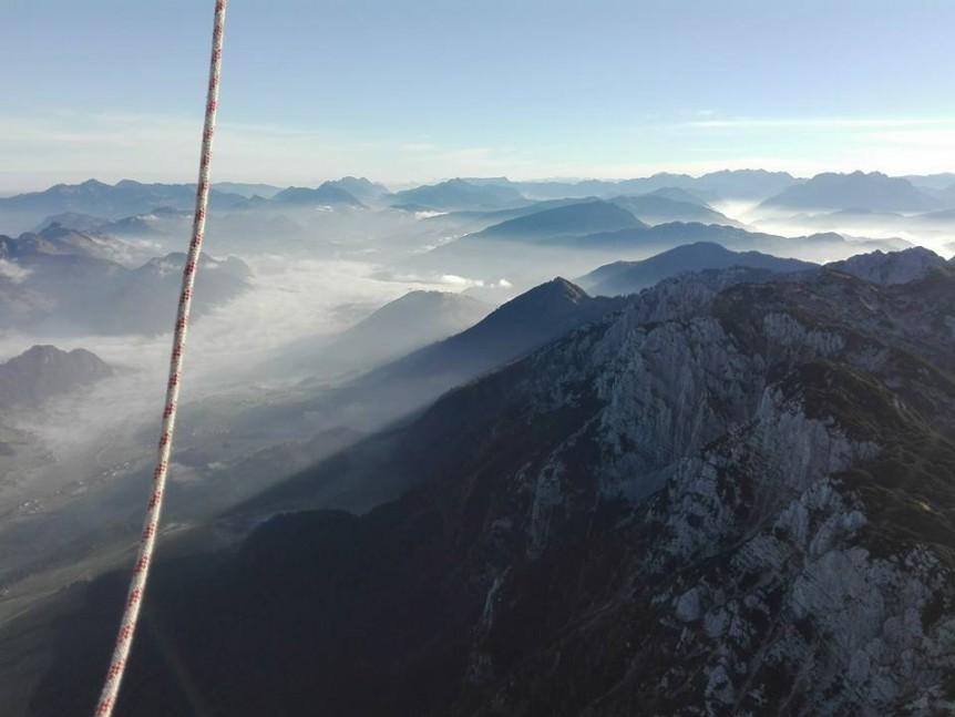 Alpen Ballonfahrt Herbst 2017