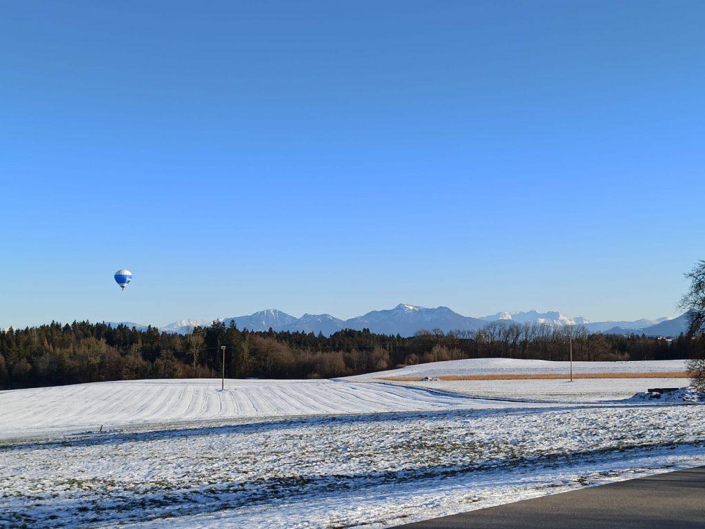 ballonfahrt im alpenvorland und chiemgau