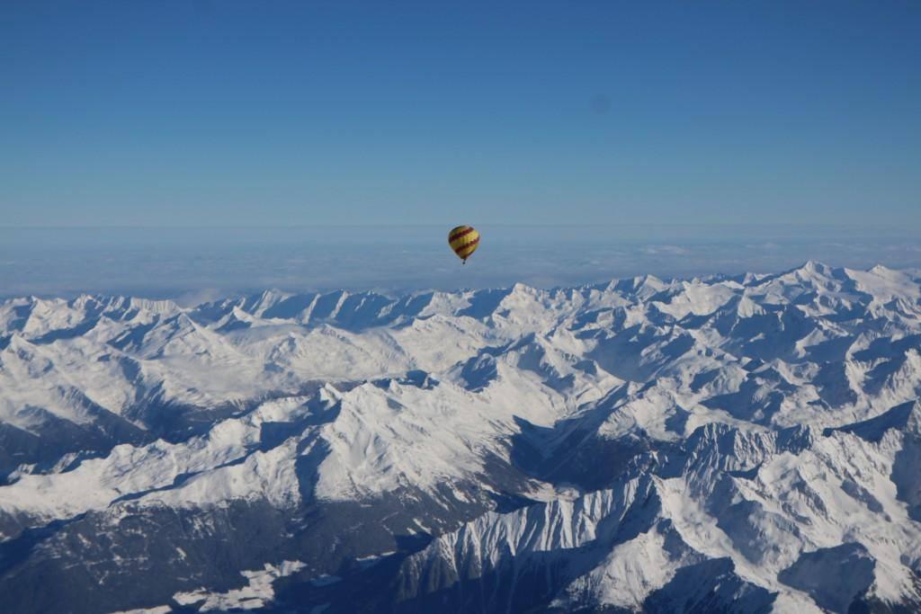 alpenüberquerung ballon