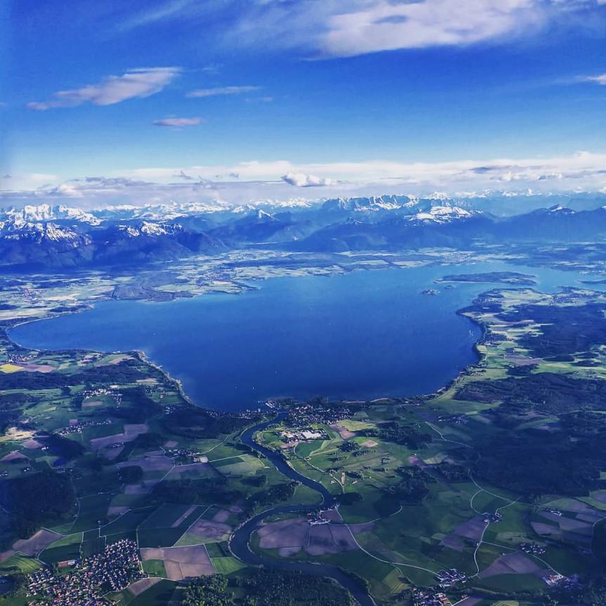 Chiemgau Ballonfahrt mit Pioneer Travel