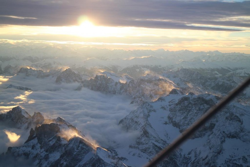 Alpenquerungen im Heißluftballon